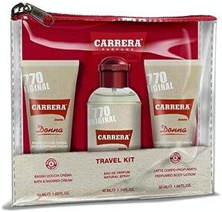Carrera Jeans Carrera Donna Eau Parfum 40Ml + Leche Corporal 50Ml + Gel Ducha 50Ml 200 g