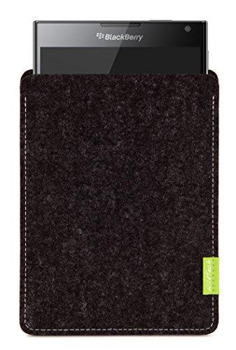 WildTech Sleeve für BlackBerry Passport Hülle Tasche - 17 Farben (Handmade in Germany) - Anthrazit