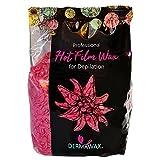 Serie Dermawax negra de 1 kg- Cera de película de rosa Perlas de cera...
