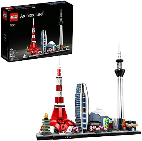 LEGO Architecture Skylines Tokyo 21051 Building Kit Collectible Architecture Building Set for product image