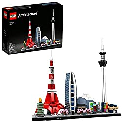 small LEGO Architecture Skyline: 21051 Tokyo Building Set, Architectural Kit for Collectors …