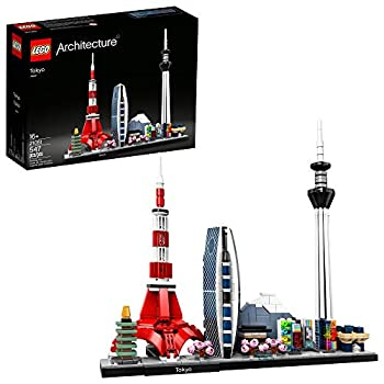 LEGO Architecture Skylines  Tokyo 21051 Building Kit Collectible Architecture Building Set for Adults  547 Pieces