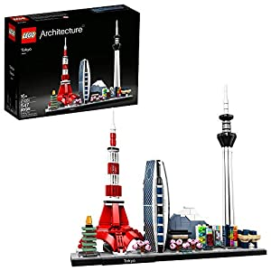 LEGO Architecture Skylines: Tokyo 21051 Building Kit, Collectible Architecture Building Set for Adults, New 2020 (547… - 51yY1 7cgkL - LEGO Architecture Skylines: Tokyo 21051 Building Kit, Collectible Architecture Building Set for Adults, New 2020 (547…