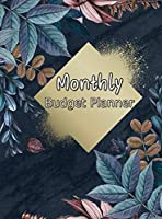Monthly Budget Planner: Weekly Expense Tracker, Bill Book, Budgeting Planner, Monthly Finance, Personal Finance Book