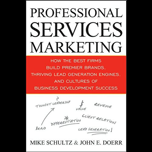 Professional Services Marketing audiobook cover art