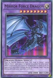 YuGiOh : DRL3-EN059 1st Ed Mirror Force Dragon Ultra Rare Card - ( Yu-Gi-Oh! Single Card ) by Deckboosters