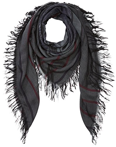PIECES Damen PCPUNIA SQUARE SCARF Umschlagtuch, Mehrfarbig (Sycamore), One size
