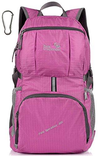 35l! Outlander Grand sac à dos de randonnée pratique et léger, rose