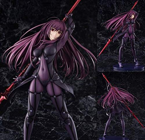 MizzZee Fate/Stay Night Action Figures Fate Grand Order Lancer Scathach Figure Toy 27cm Aquamarine Fate Anime Model Fate/Grand Order