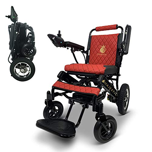 2020 New Remote Control Electric Wheelchairs Lightweight Foldable Motorize Power Electrics Wheel Chair Mobility Aid Electric Wheelchairs