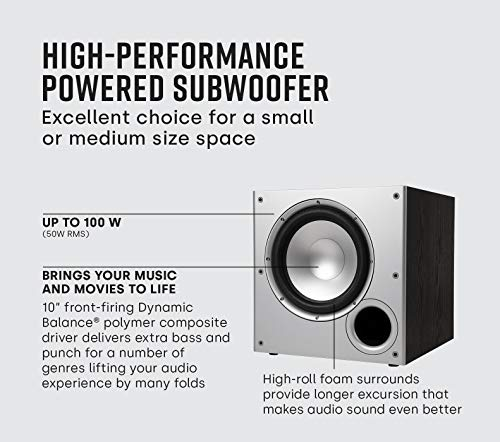 Polk Audio PSW10 10' Powered...
