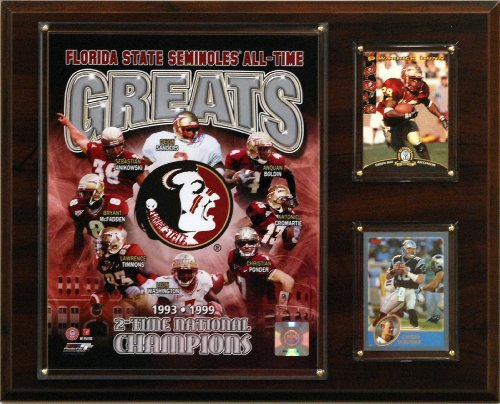 Florida State Seminoles All Time Greats NCAA Framed 8x10 Photograph National Champs Collage
