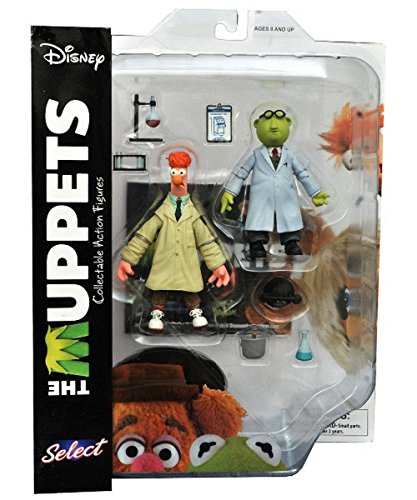 Diamond Select Toys The Muppets: Beaker & Bunsen Honeydew Select Action Figure by Diamond Select