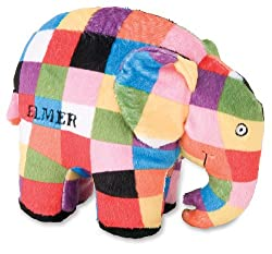 Elmer the Patchwork Elephant: Bean Bag