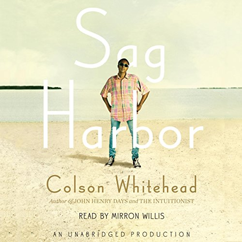 Sag Harbor audiobook cover art