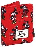Disney Classic Minnie Cheerful Porte-Monnaie, 11 cm, Rouge (Rojo)