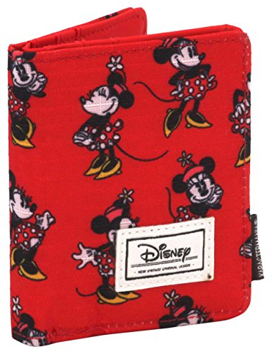 Karactermania Disney Classic Minnie Cheerful Monederos, 11 cm, Rojo