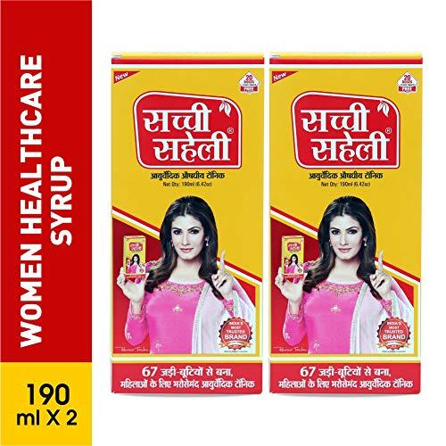 Sachi Saheli Ayurvedic Syrup 190ml x 2pc