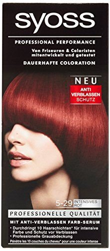 Syoss Professional Performance Coloration Stufe 3, 5-29 Intensives Rot, 115 ml