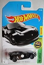 Hot Wheels 2017 HW Exotics '15 Jaguar F-Type Project 7 141/365, Black