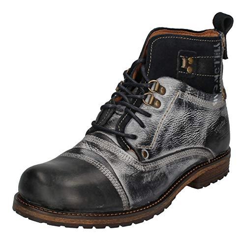 Yellow Cab Schuhe reduziert - Boots Soldier - 15105 Blue, Größe:42 EU