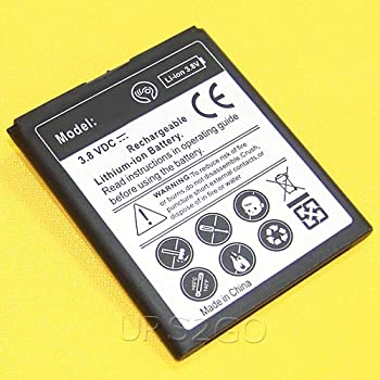 Large Capacity Displaceable Excellent Extended Slim Mighty Density 1900mAh Battery for ZTE Obsidian Z820 T-Mobile Phone