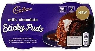 Cadbury Milk Chocolate Sticky Puds - (2 x 95g)