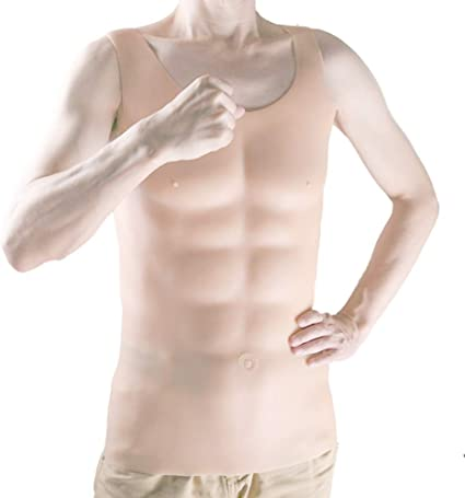 Músculo realista de hombres sin silicona para hombres/Cofre ...