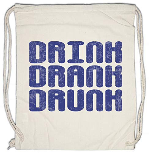 Urban Backwoods Drink Drank Drunk Sporttas Gym Zak Sportzak Rugzak