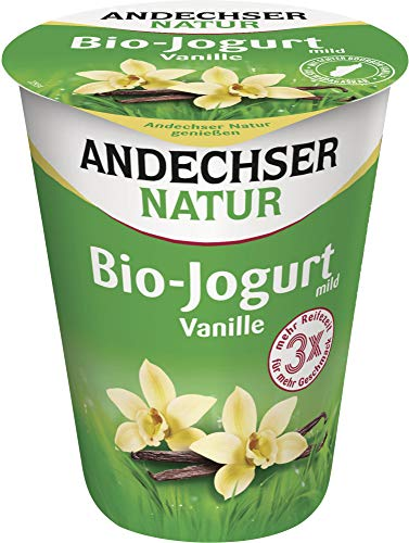 Andechser Natur Bio Bio Jogurt Vanille 3,7% (6 x 400 gr)