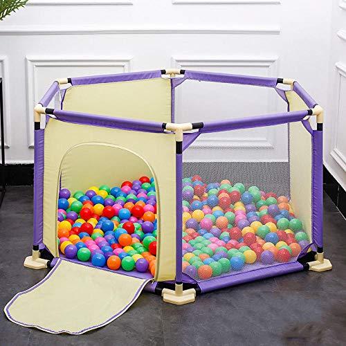 Unknow 22 sq ft Púrpura amarilloAlfombras Infantiles Juegos con Malla Transpirable,6 Piezas...