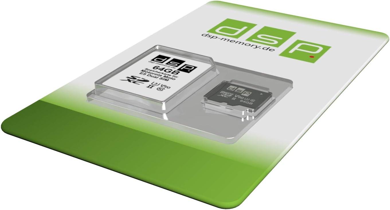 Dsp Memory 64gb Speicherkarte Für Motorola Moto E5 Computer Zubehör