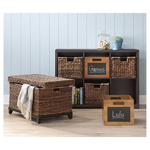 Threshold Wicker Global Dark Brown Basket Collection (Trunk)