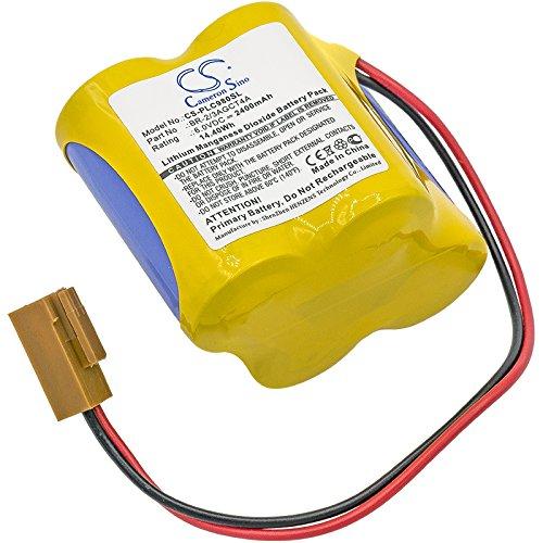CS-PLC980SL Batería 2400mAh Compatible con [FANUC] 18-T Series programmable Logic Controllers, Alpha...