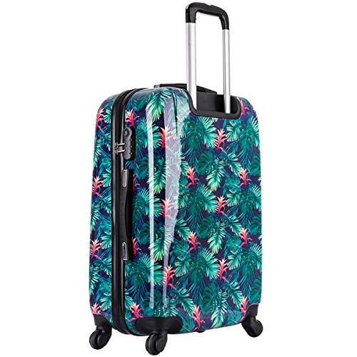 Lot de 3 valises ZIFEL - ABS - 4 Roues - 50cm - 60cm - 70cm