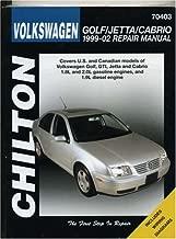 Volkswagen Golf/Jetta/Cabrio, 1999-2002 (Chilton's Total Car Care Repair Manual)