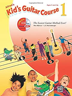 Alfred's Kid's Guitar Course 1: The Easiest Guitar Method Ever!, Book & Enhanced CD