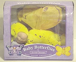 Anne Geddes Yellow Baby Butterfly (10