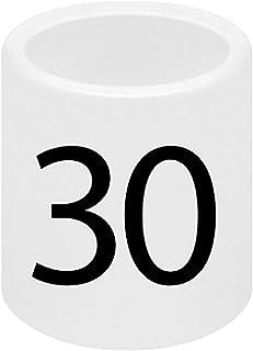 SSWBasics Mini Slip On Size Markers - Size 30- Pack of 50
