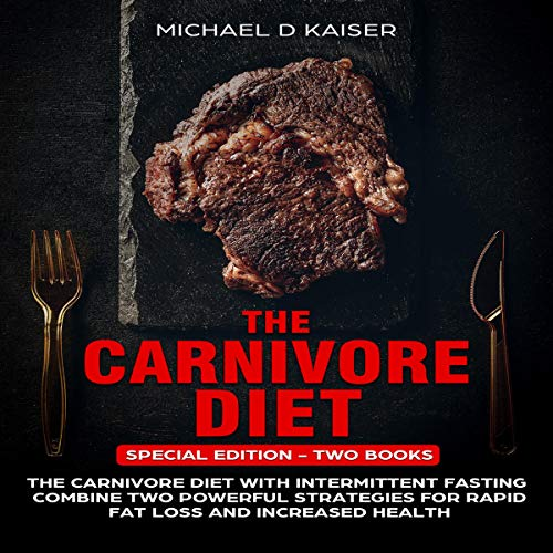 The Carnivore Diet audiobook cover art
