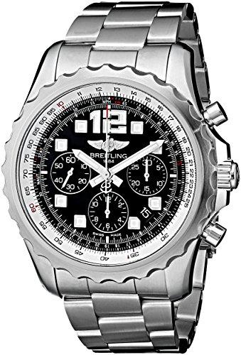 Breitling A2336035-BA68 Herren-Armbanduhr, analoges Display, Schweizer Automatik, silberfarben