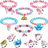 Hicarer 12 Pieces Unicorn Bracel...