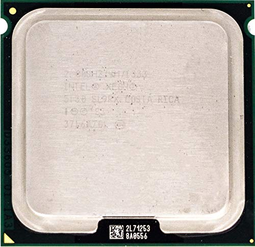 Intel Xeon 5130 2.00GHz/4MB/1333 MHz FSB/sl9rx slabp/Socket 771/1G Blank Plate/tray CPU without Cooler