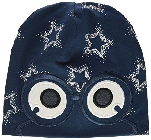 Fred'S World By Green Cotton Star Peep Beanie Baby Bonnet, Minuit, 68/74 Bébé garçon