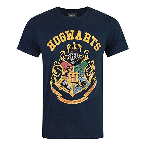 Officially licensed merchandise Short Sleeve Crew Neck Regular Fit Official Harry Potter merchandise