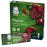 Gerber Organic Fruit & Veggie Bar Date & Beet, 4.2 oz