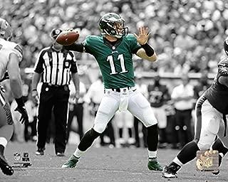 Carson Wentz Philadelphia Eagles Spotlight Action Photo (Size: 8