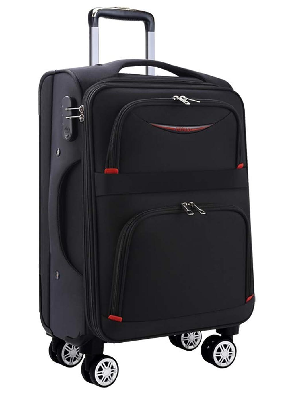上昇寄稿者誘うOsonm ビジネスバッグスーツケースソフトキャリーバッグ機内持込 大型預け入れスーツケース キャスター613SD