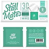 Stall Mates: Flushable, individually wrapped wipes for travel....