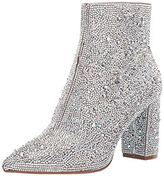 Blue by Betsey Johnson Women s SB-Cady Fashion Boot Rhinestone 9.5 M US